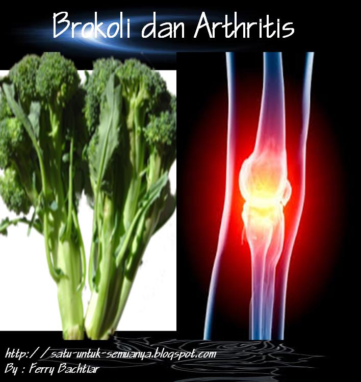 manfaat brokoli pada Arthritis