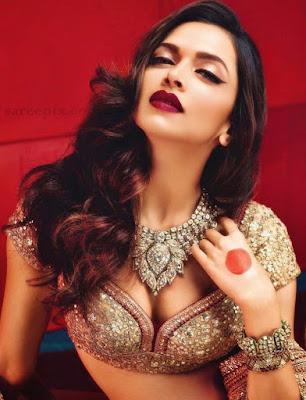 Deepika Padukone in lehnga