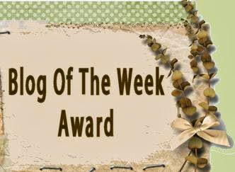Award from crafting from the heart