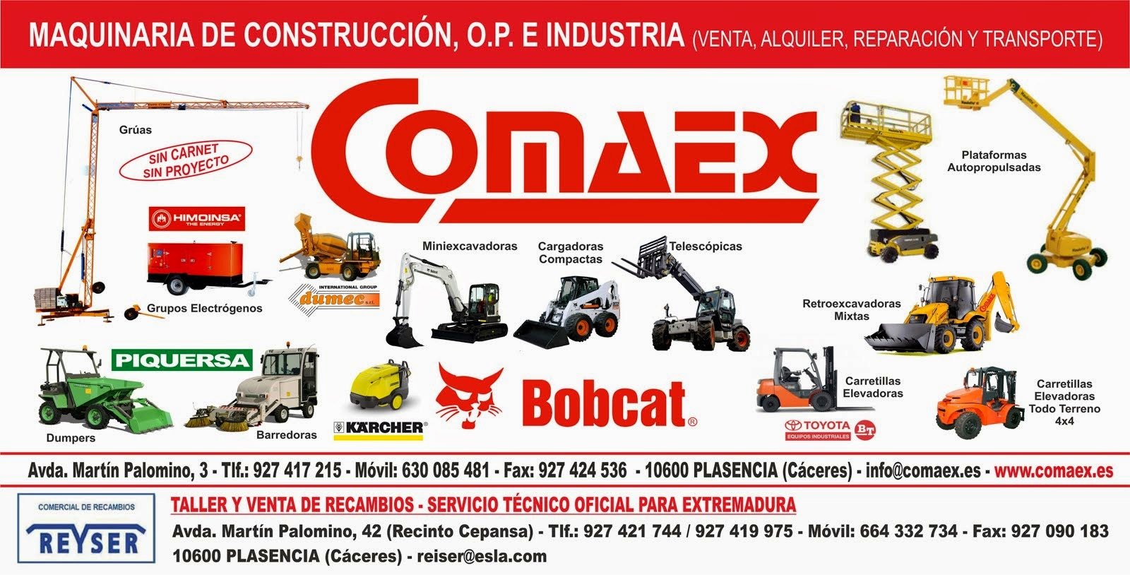 Comercial Comaex