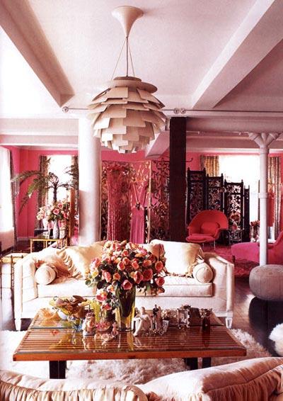 цвет в интерьере: 38 ярких комнат