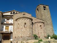 La façana de llevant de Sant Feliuet de Terrassola