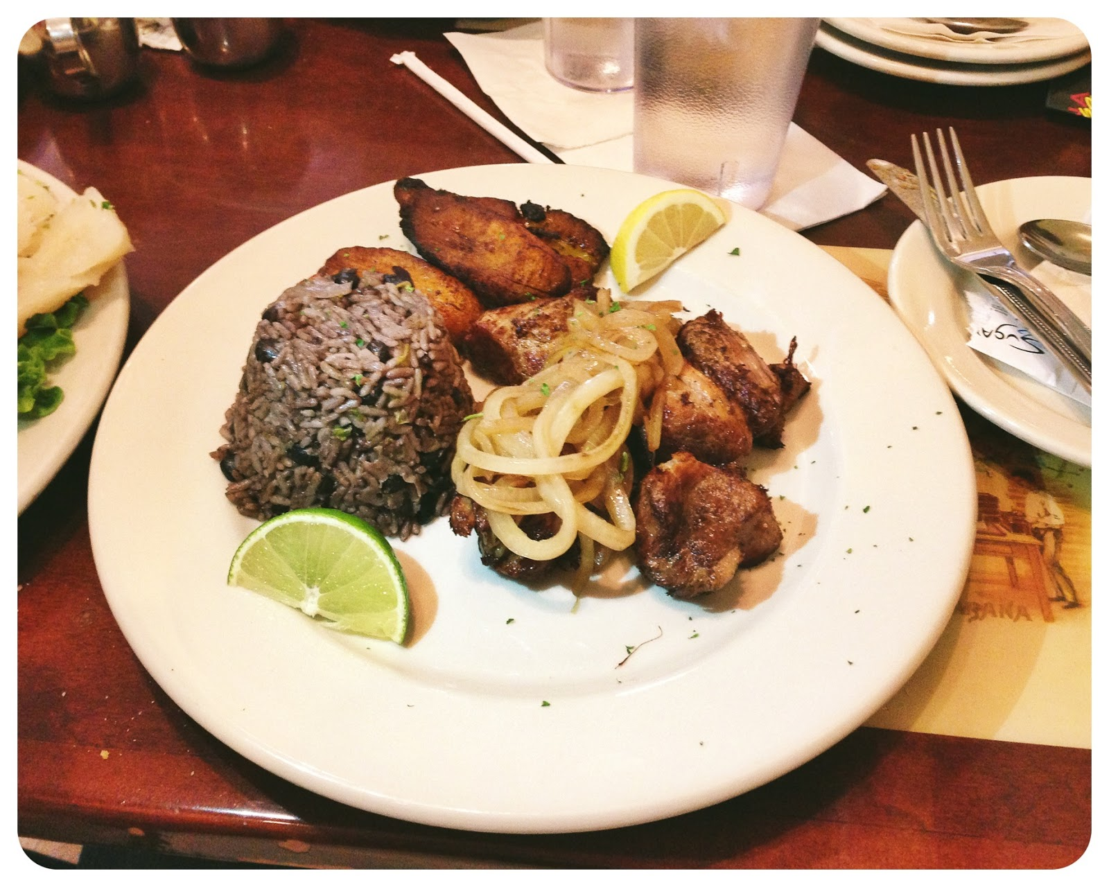 Masas De Puerco at Havana Rumba Cuban restaurant in Louisville Kentucky