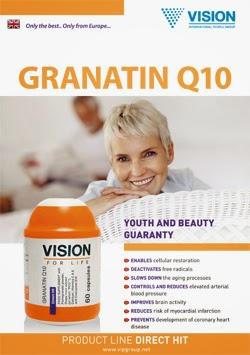công dụng Coenzyme Q10 Vision Tim mạch khỏe mạnh