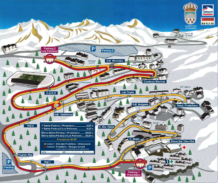 Tu casa en sierra nevada mapas y planos de acceso - Apartamentos baratos en sierra nevada ...