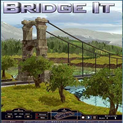 غلاف لعبة Bridge It