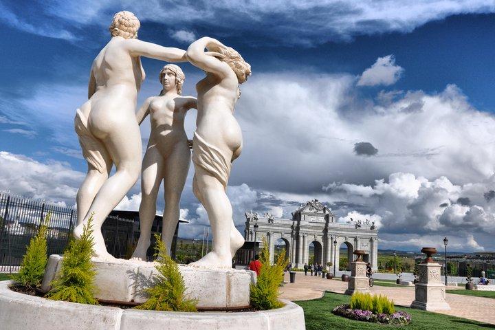 Todos contra el arte detalles del parque europa - Viviendas en torrejon de ardoz ...