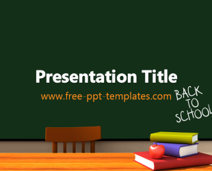 back to school pp template  free powerpoint templates, Templates