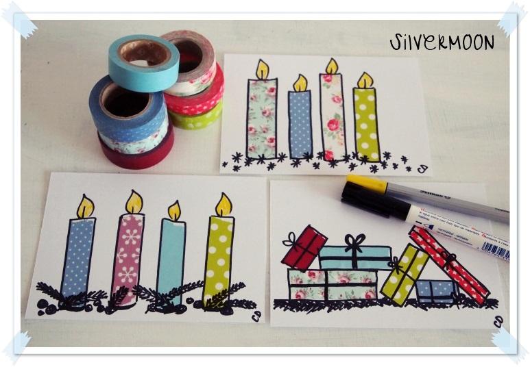 Pinterest ideen weihnachtskarten for Pinterest kreativ ideen
