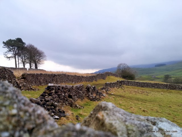 Yorkshire Dales dry stone walls