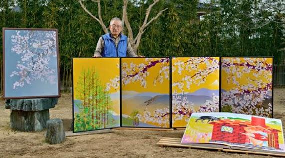 Pria Jepang ini Membuat Lukisan Menggunakan Microsoft Excel