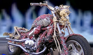 Extreem Corpse Motorcycle