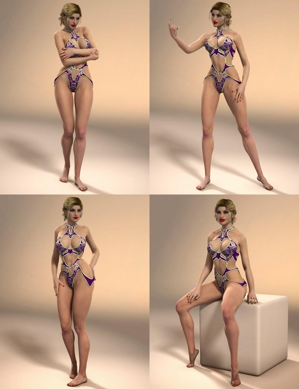 Séductrice pose pour Lilith 6