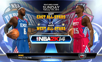 NBA 2K14 PC East vs. West All-Stars
