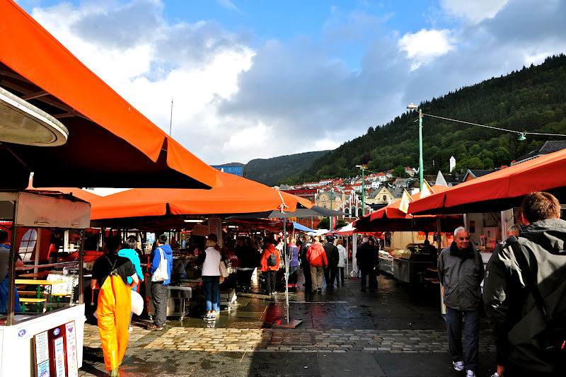 Merlin and Rebecca: The Bergen Fish Market