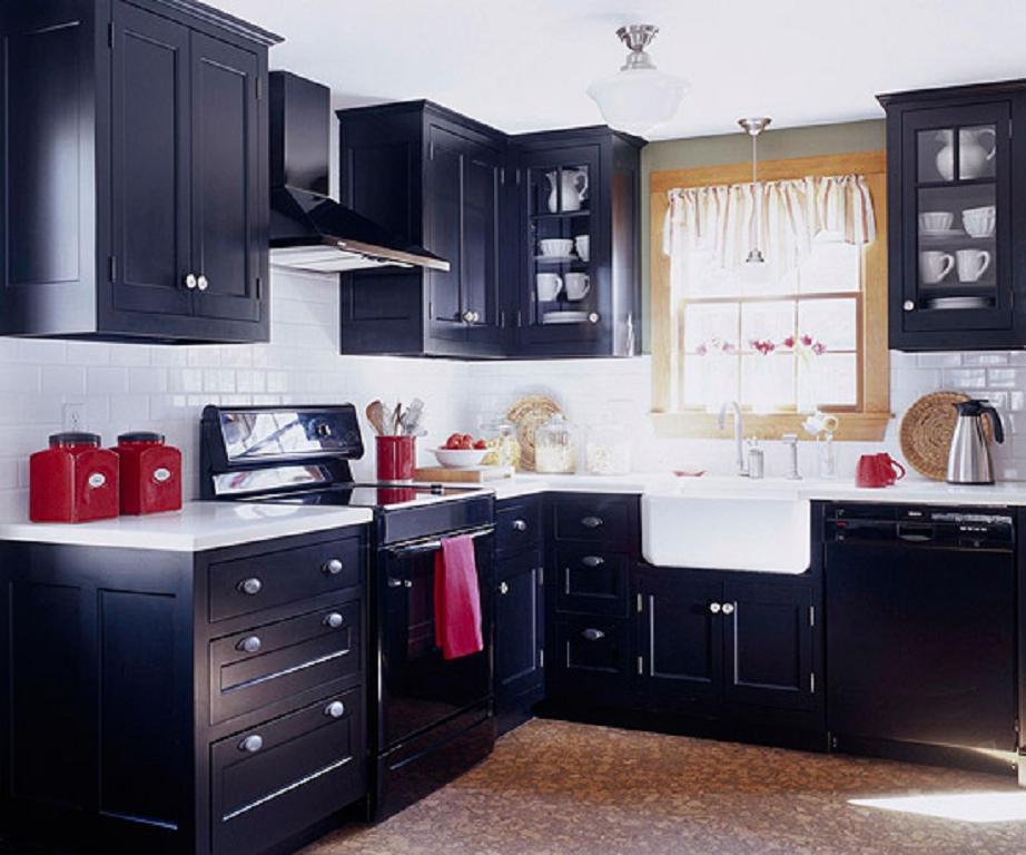25 Ideas Para Decoración Cocinas Negros - Decoración del hogar y el ...
