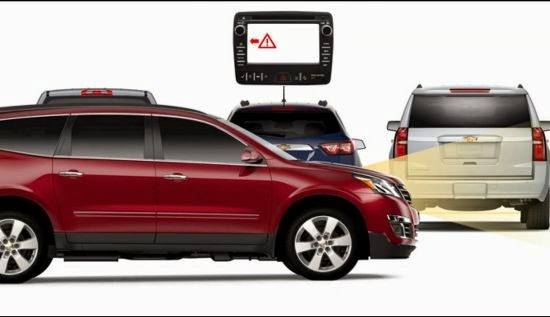 Avoid Rear Crashes with Chevrolet's Forward Collision Alert