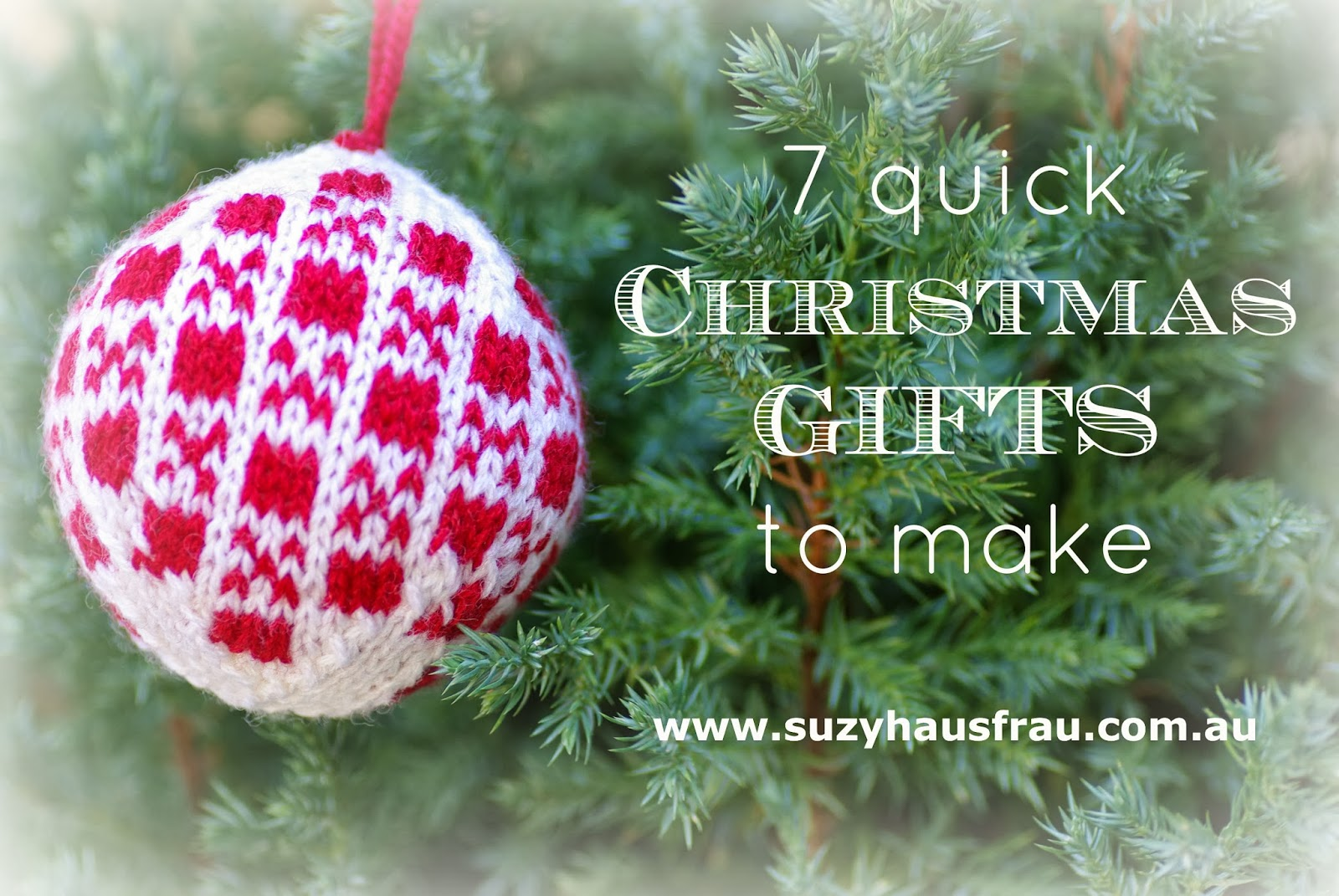 seven quick christmas gifts to make