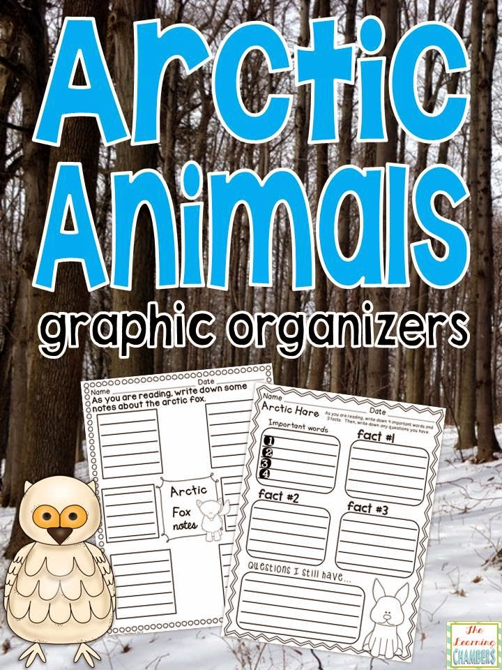 http://www.teacherspayteachers.com/Product/Arctic-Animals-Graphic-Organizers-1622818