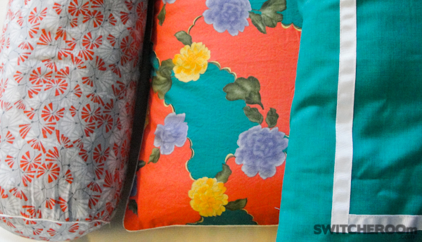 bedding, bright fun pillow cases, colorful pillow case