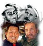 Resultado de imagen para fidel y bolivar