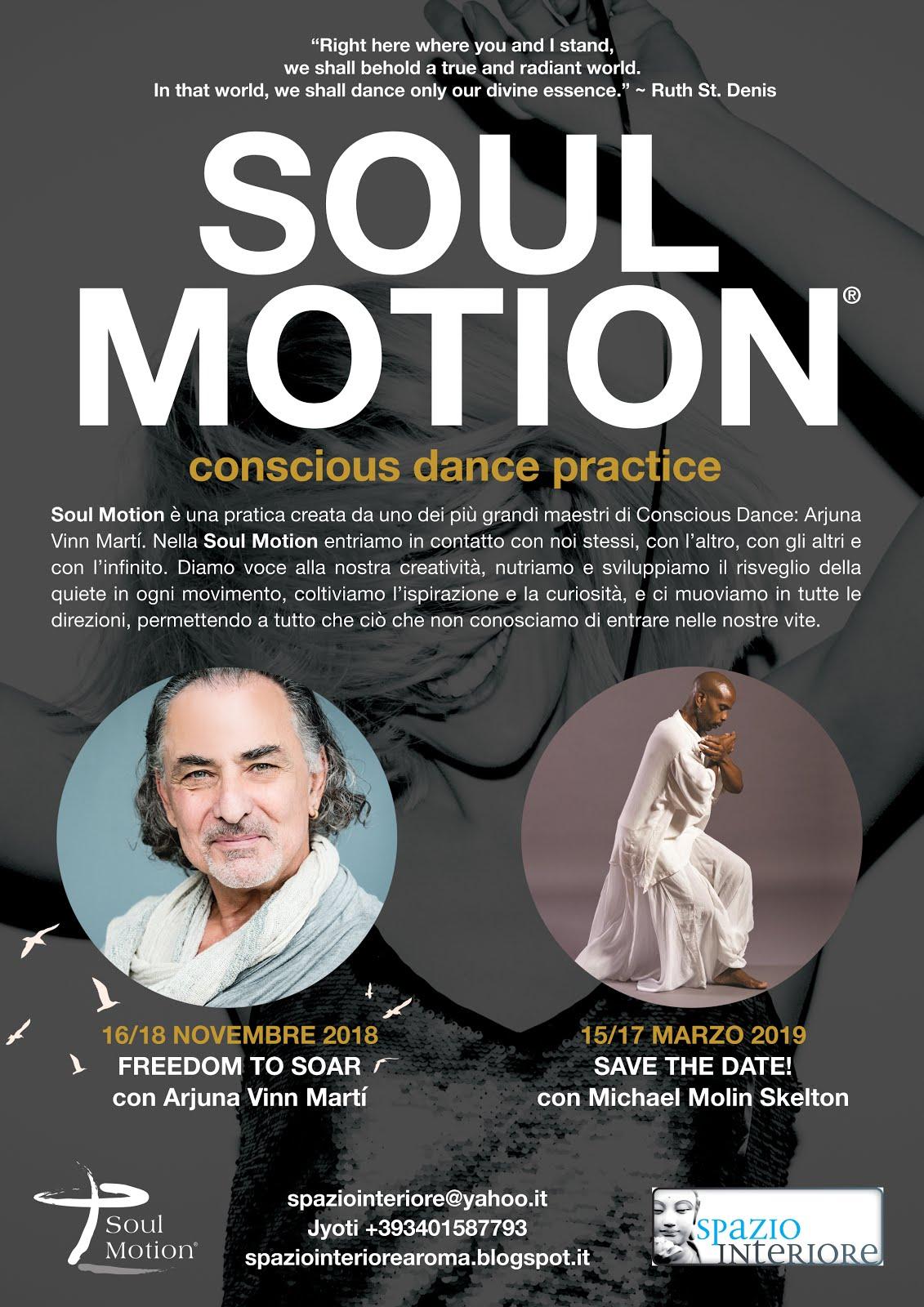 Soul Motion con Vinn Arjuna Marti e Michael Molin Skelton