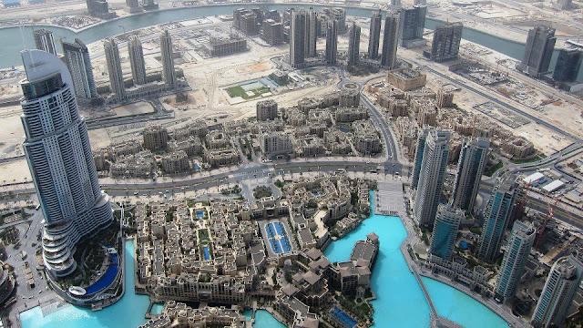 dubai, burj khalifa, khalifa tower, amazing view