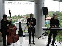 Jazz Trio led by Jason Geh performing LIVE at the event