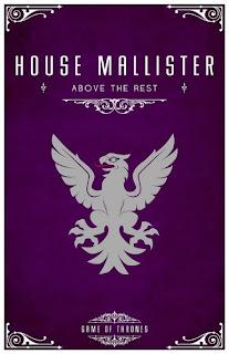emblema casa Mallister - Juego de Tronos en los siete reinos