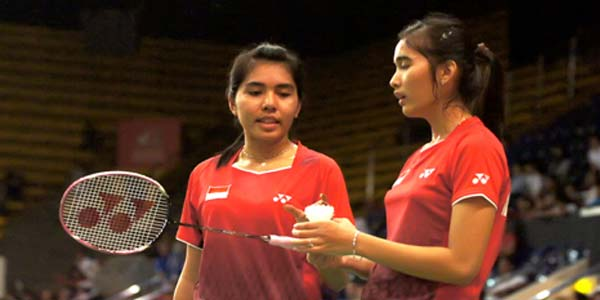 Bulu Tangkis Putri - Indonesia Hajar Malaysia