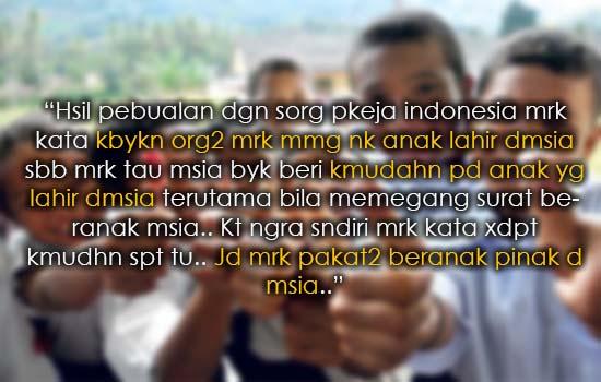Rakyat Malaysia Tak Puas Hati Bila Anak IC Merah Dapat Semua Kemudahan Dalam Bajet 2016