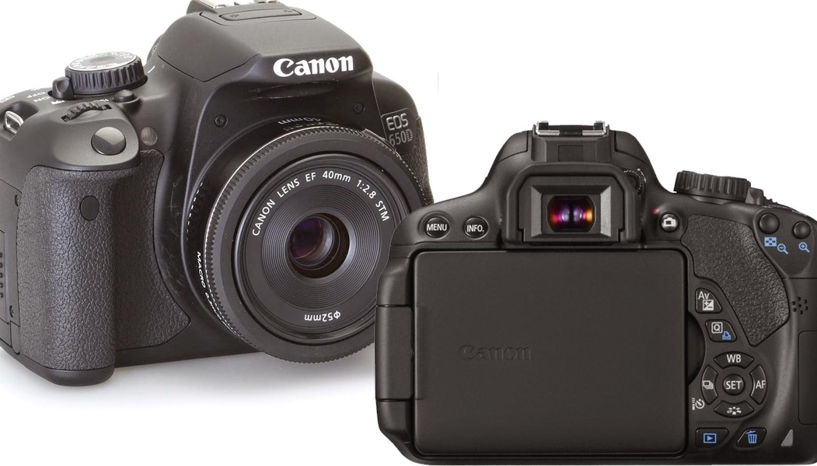 CANON EOS 650D digital dslr kamera