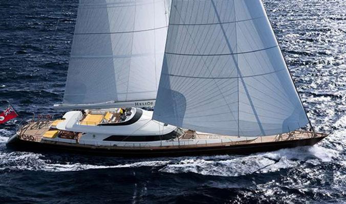 The Perini Navi Cup, an inshore regatta for sailing yachts built by Perini ...