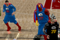NBA 2K12 Justice League Vs The Avengers V4 Mod Marvel