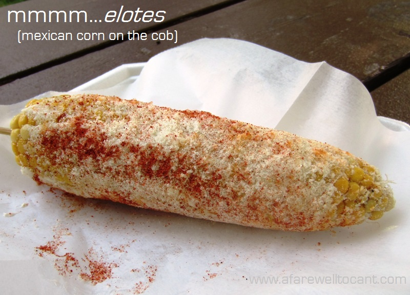 Barefeet In The Kitchen: Elote {Hot Mexican Corn Dip}