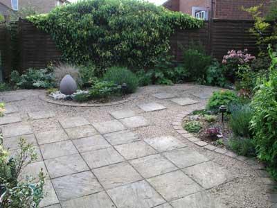 Arte y jardiner a superficies horizontales materiales - Losas para jardin ...