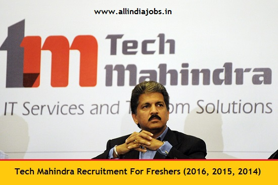 Tech Mahindra Recruitment 2018 2019 Job Openings For