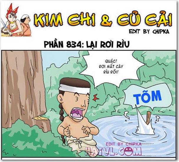 Kim Chi và Củ Cải phần 834 - Lại Rơi Rìu. Tổng hợp những câu chuyện bựa 18+ Kim chi và củ cải mới nhất