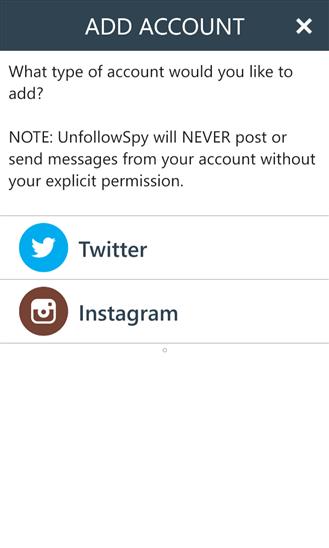 UnfollowSpy | Mengetahui Orang Yang Unfollow Twitter Instagram Kita | Windows Phone