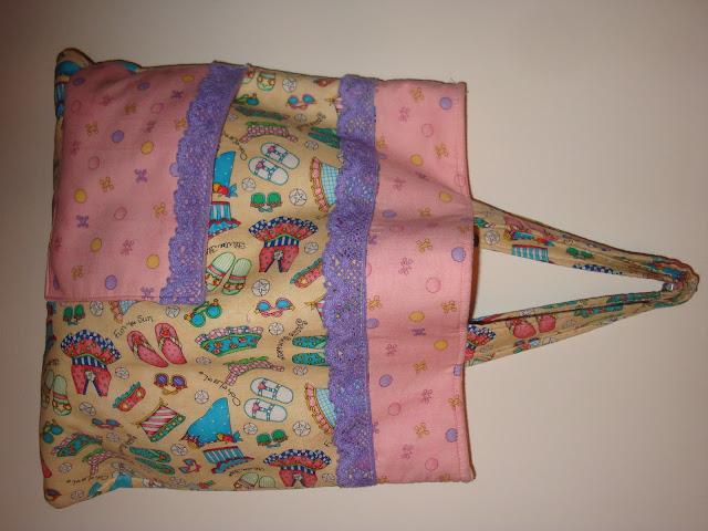 Infant textile bag, child fabric bag, bolsa infantil