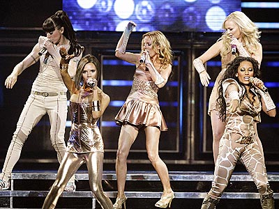 Spice Girls in Olympic Opening Ceremony 2012