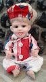 Boneka keramik jadul #2