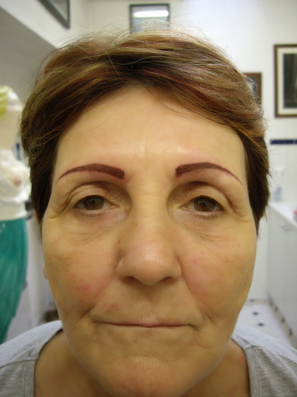 Meagan Good Tattooed Eyebrows Beauty Wallpaper