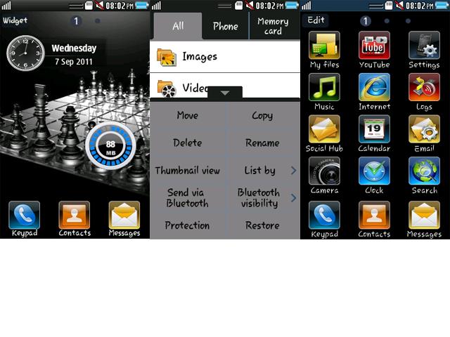 free screensaver for mobile samsung wave 525