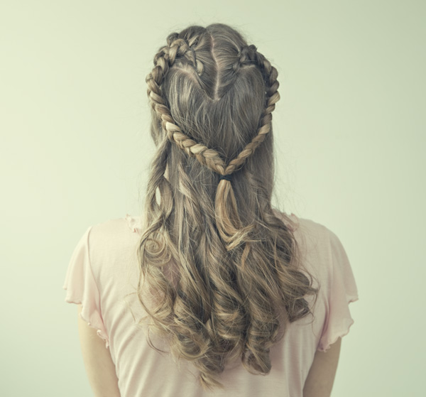 heartbraid Romantic Hairstyles to Try this Valentines Day