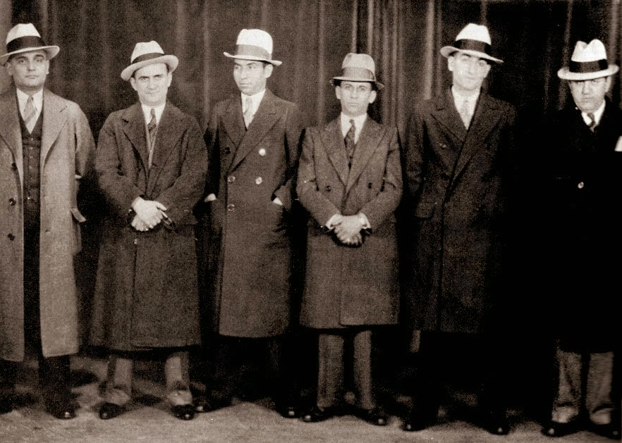 Rise of New York Mafia from 1905 to 1960