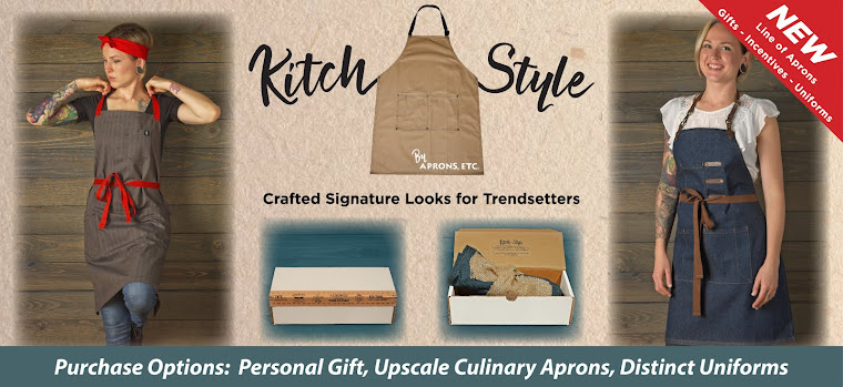 Aprons Etc. 1 company featuring 3 top lines: Fast and Free, Valu-Branding, Kitch Style