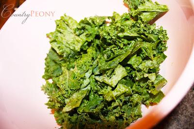 prepared kale