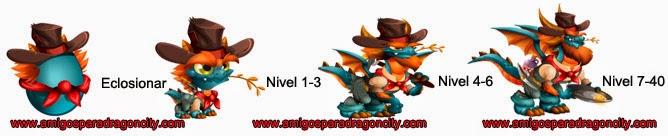 imagen del dragon fiebre del oro de dragon city