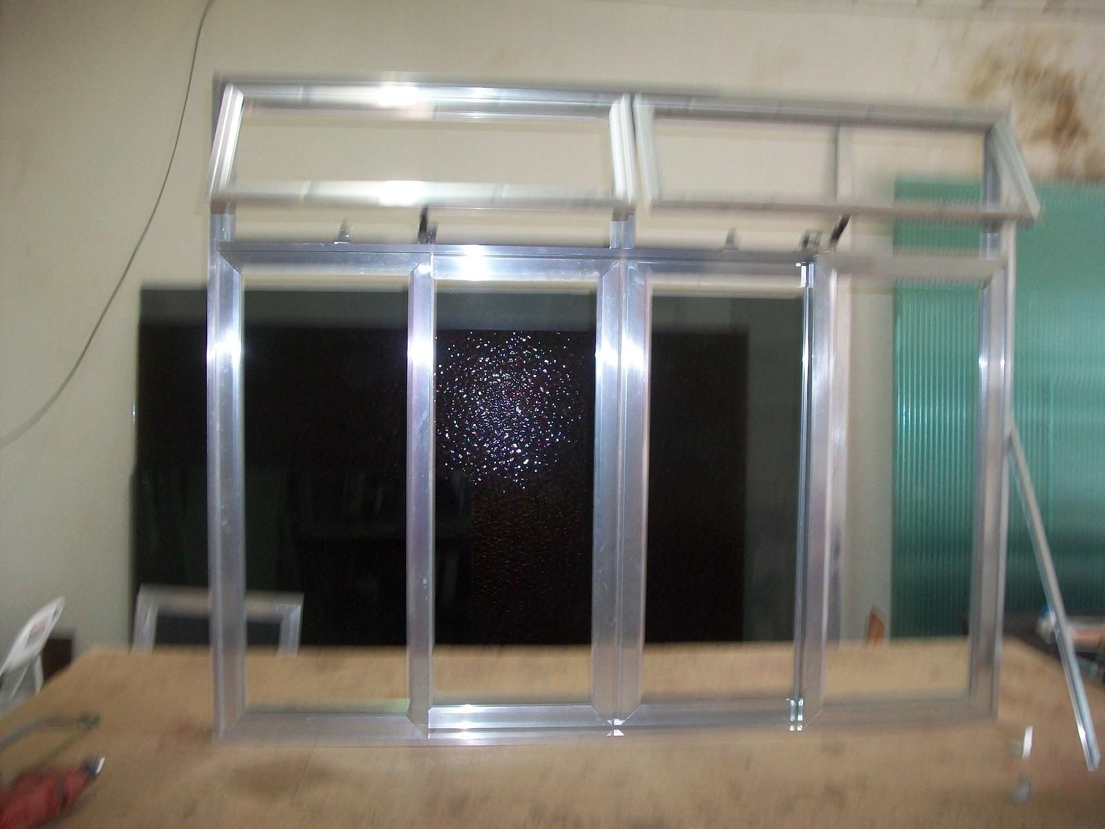 #614637  como se faz esquadrias de aluminio: janela de aluminio correr 4 folhas 1964 Janela De Aluminio Uma Folha